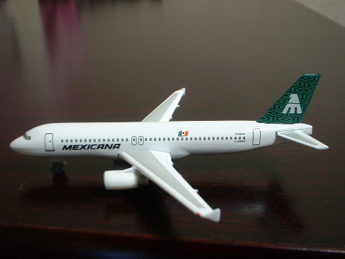 Herpa 501699 Mexicana Airlines Airbus a320 #